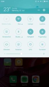 Xiaomi mi6 System MIUI 3
