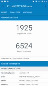 Oneplus 5 Geekbench 4 169x300