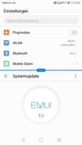 Huawei Nova EMUI System 1