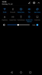 Huawei Nova EMUI System 10