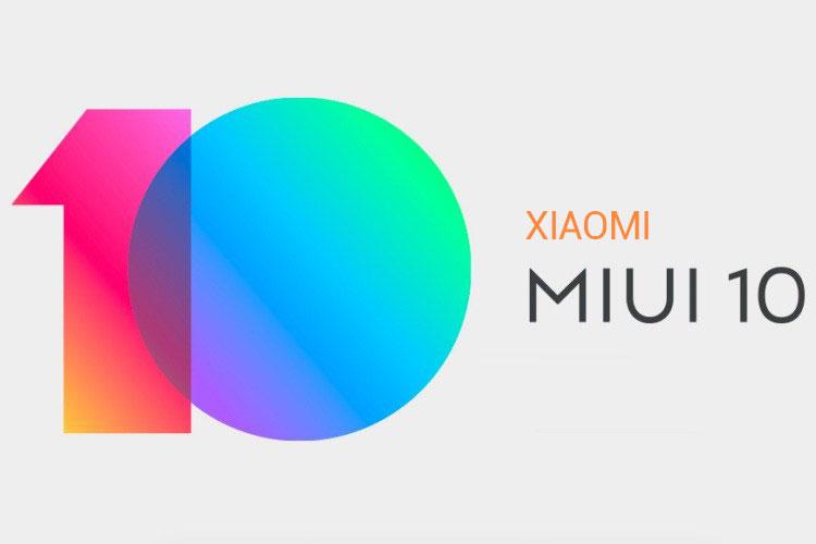 Xiaomi MIUI 10 Update