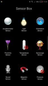 Nubia Z17 Sensorbox