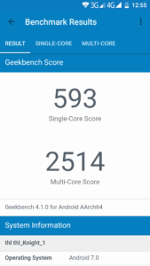 THL Knight 1 Geekbench 169x300