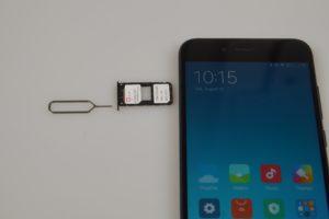 Xiaomi Mi5X Empfang Netz