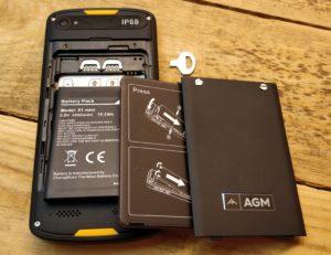 AGM X1 mini - Aufbau