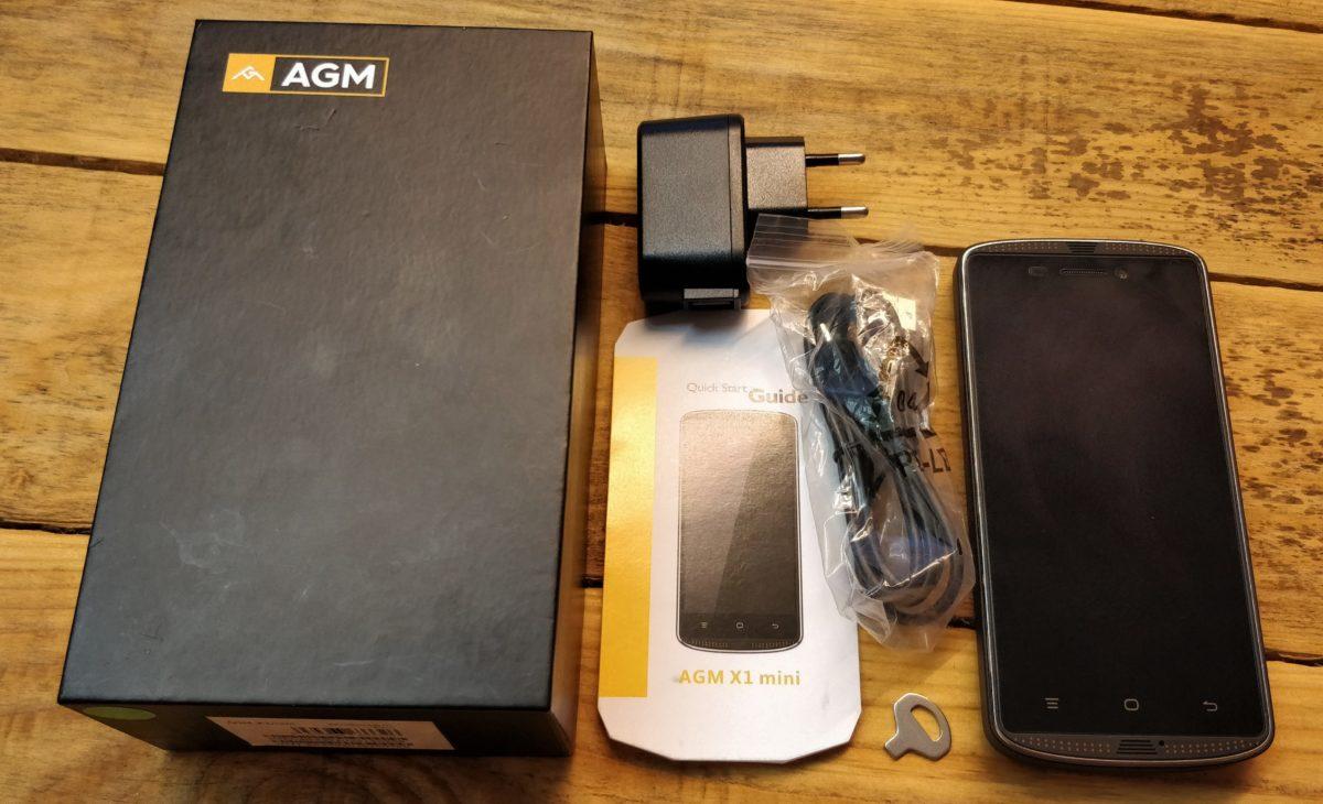 AGM X1 mini Lieferumfang 1200x730