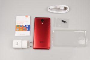 Elphone P8 Test Lieferumfang
