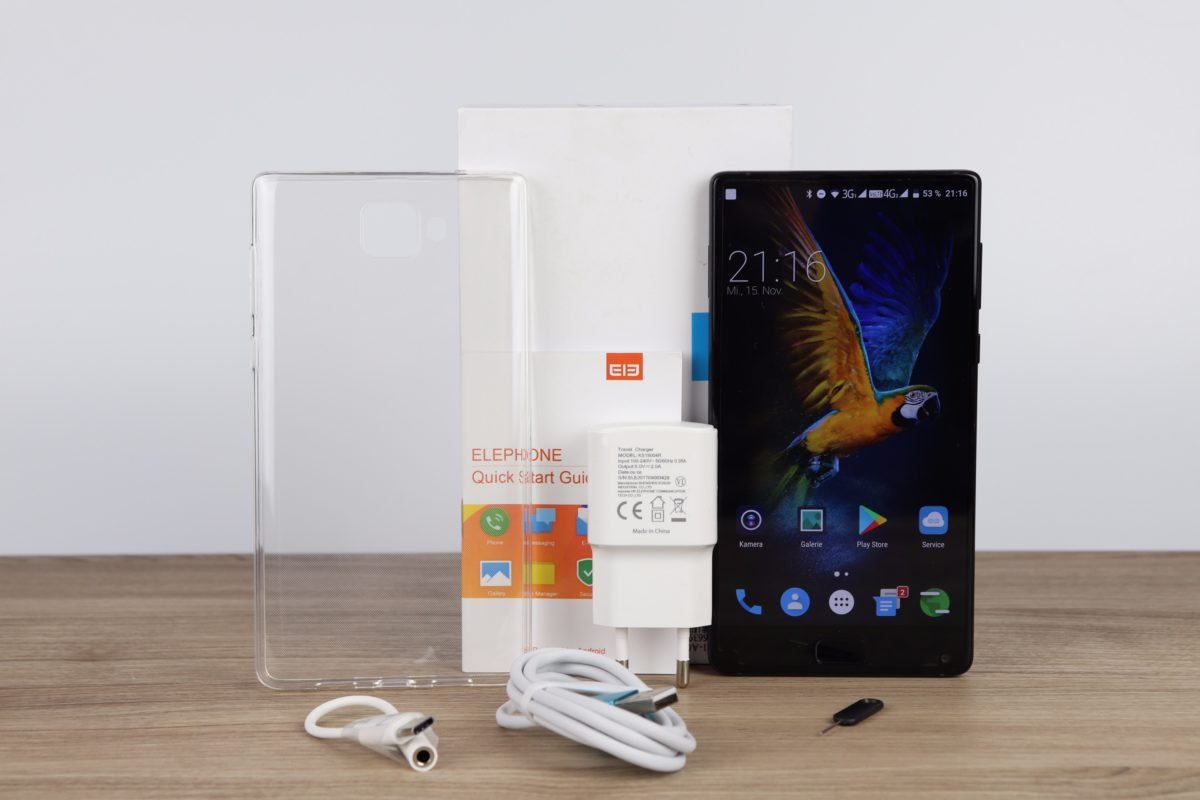 Elephone S8 Lieferumfang 1