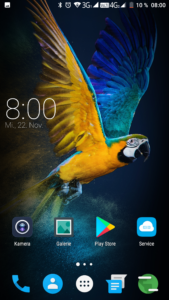 Elephone S8 System Android 7 2