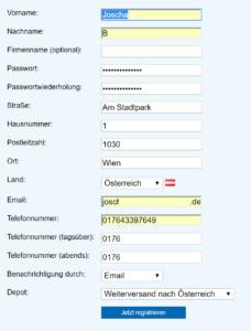 Germany Express Versand nach Österreich 1