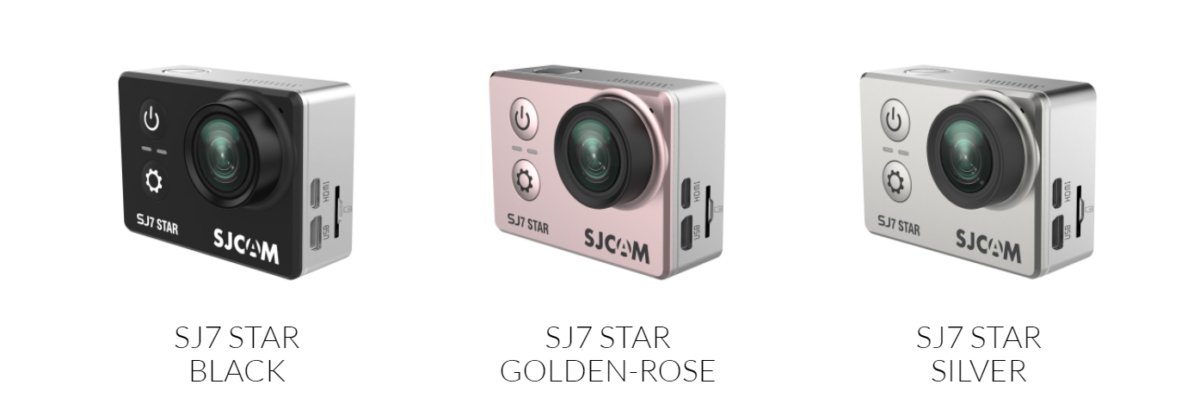 SJCAM SJ7 Star Farben Modelle