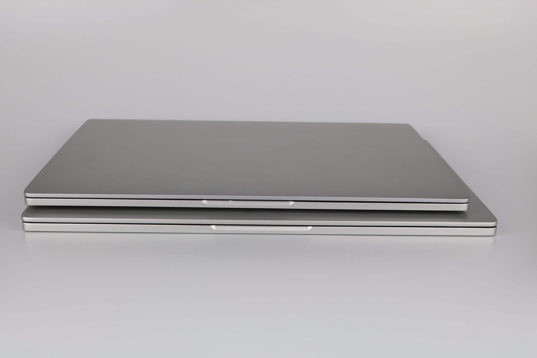 Xiaomi Mi Notebook Größenvergleich 12.5 13 3