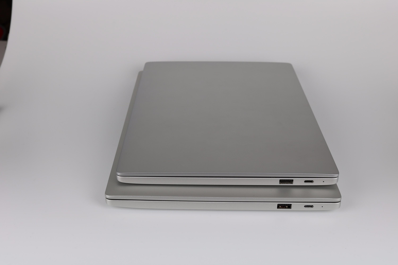Xiaomi Mi Notebook Größenvergleich 12.5 13 4