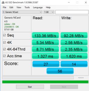 Jumper EzBook 3 Pro - Speicher Benchmark