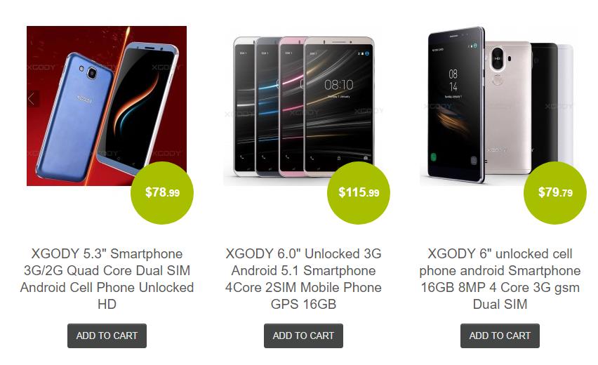 Achtung Xgody Handys Und Tablets Oft Bei Ebay Und Amazon Wieso