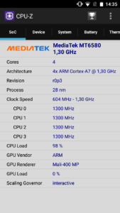 Blackview A7 Benchmark 4