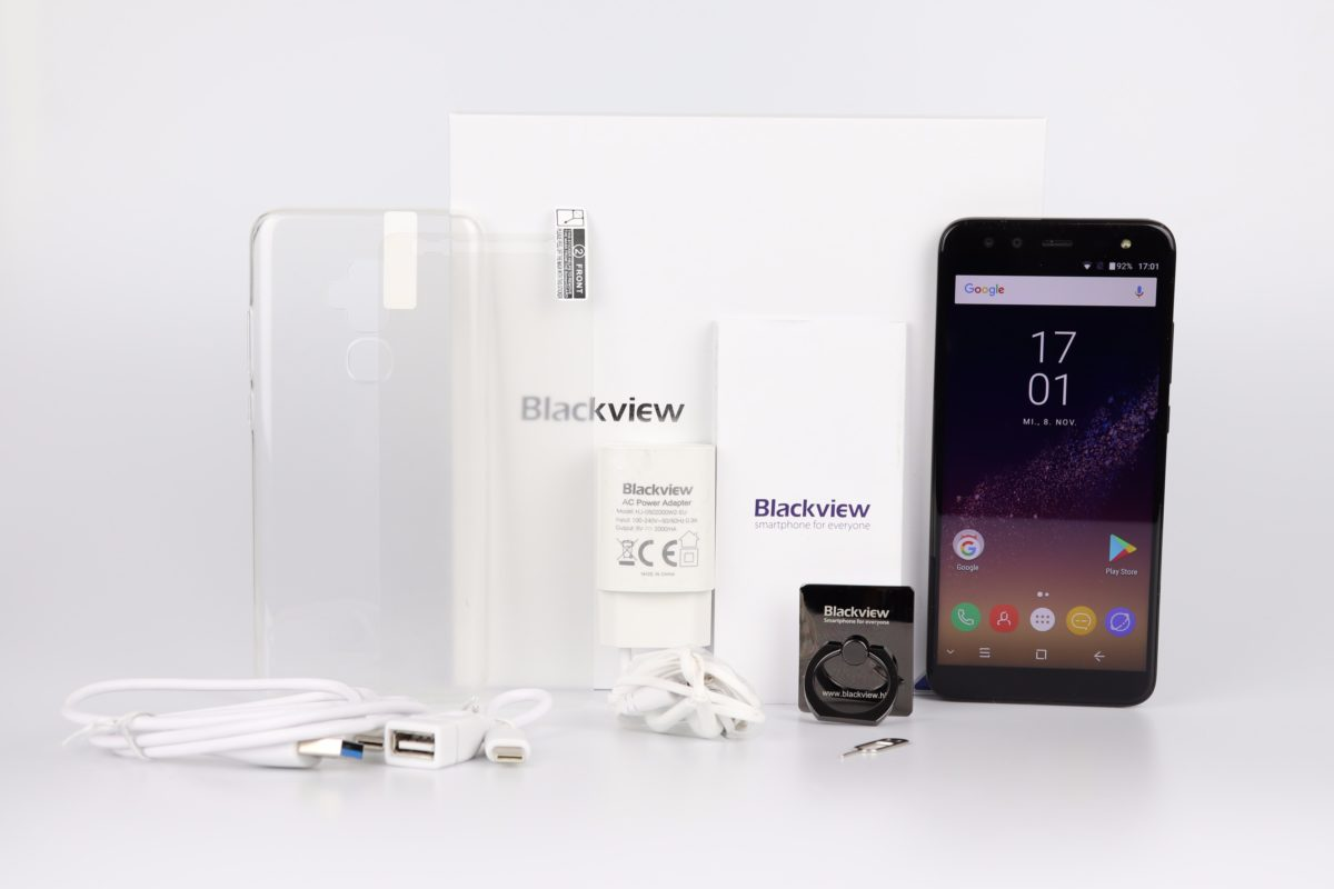 Blackview S8 Lieferumfang