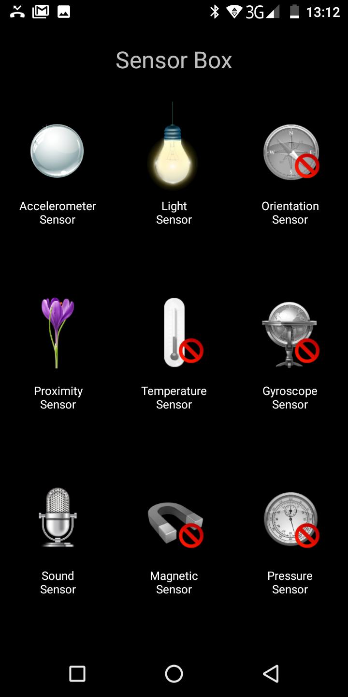 Cubot X18 Android Sensor Box