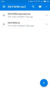 Firmware Folder
