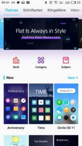 Meizu m6 note Flyme OS EInstellungen 5
