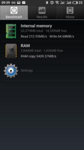 Meizu m6 note Speicher Geschwindigkeiten 169x300