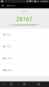 Ulefone S8 Pro Benchmarks 1