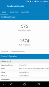 Ulefone S8 Pro Benchmarks 2