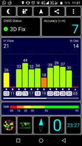 Vernee M5 GPS Test