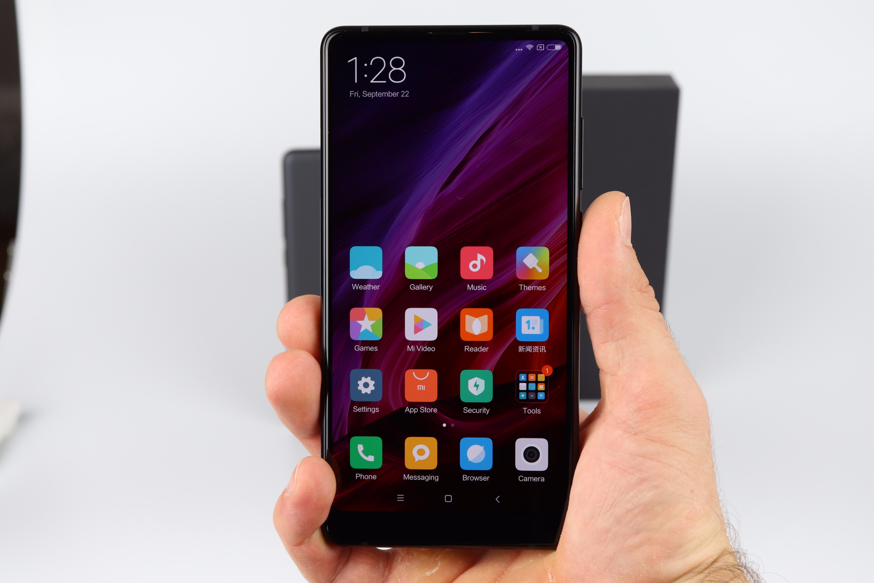 Xiaomi Mi Mix 2 hands on