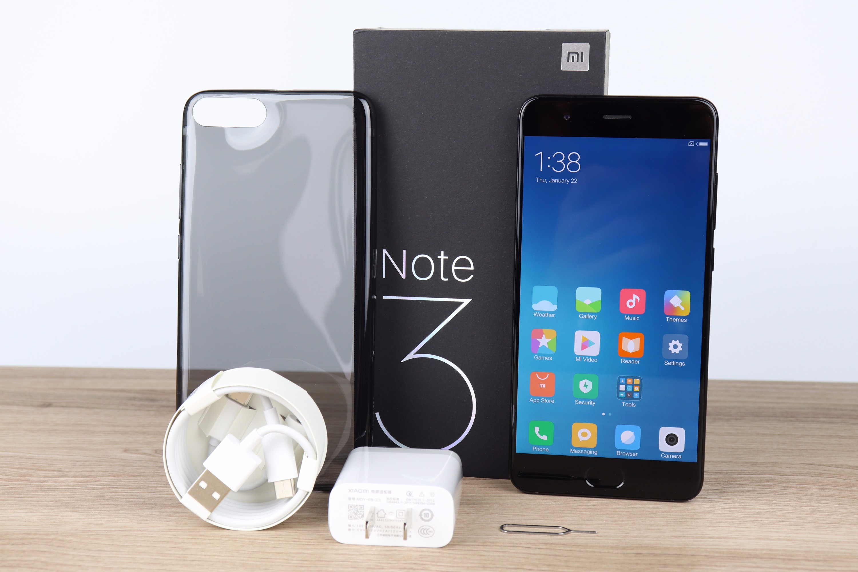 Xiaomi Mi Note 3 Scope of delivery