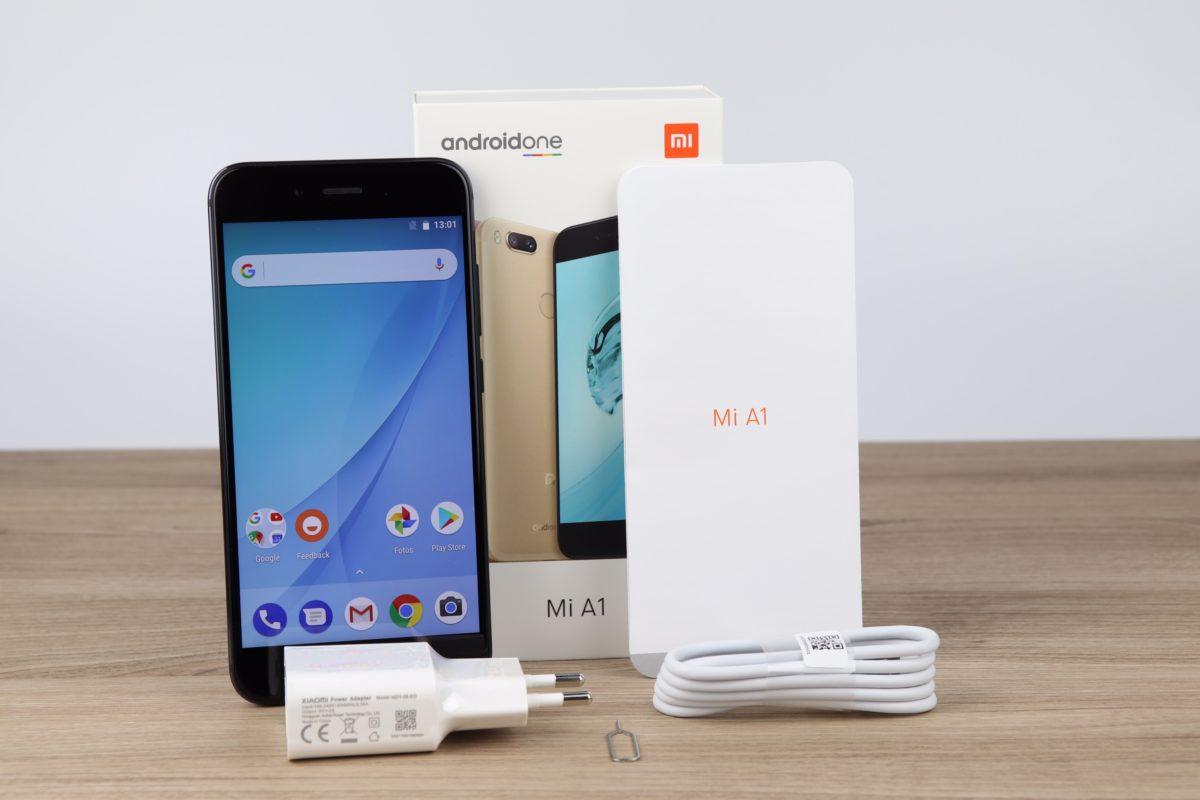 Xiaomi Mi A1 Lieferumfang