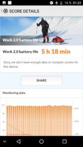 Leagoo Kiicaa Mix Antutu PCMark Batterie