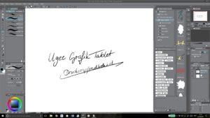Ugee Grafikdisplay 01 Druckempfindlichkeit