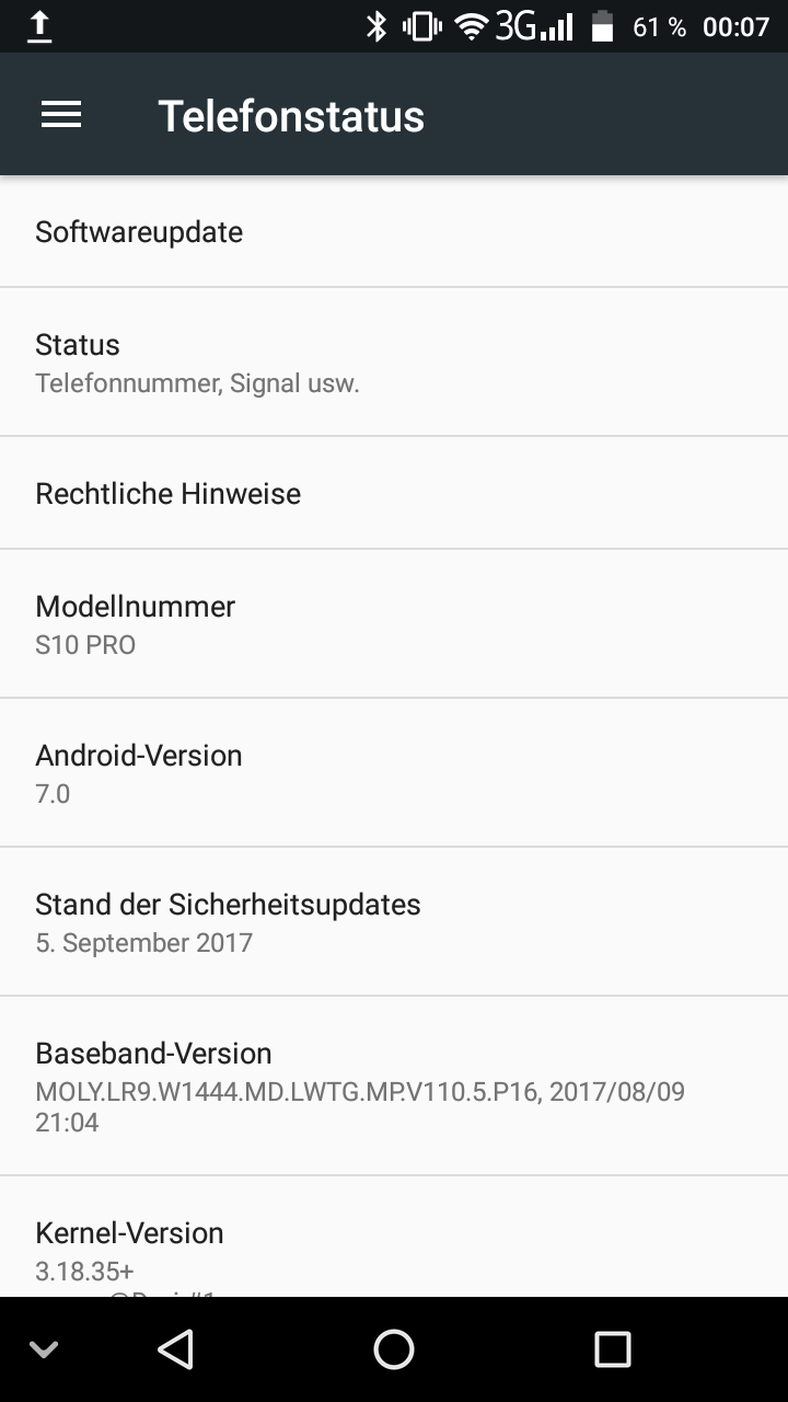 Nomu S10 Pro Android 2
