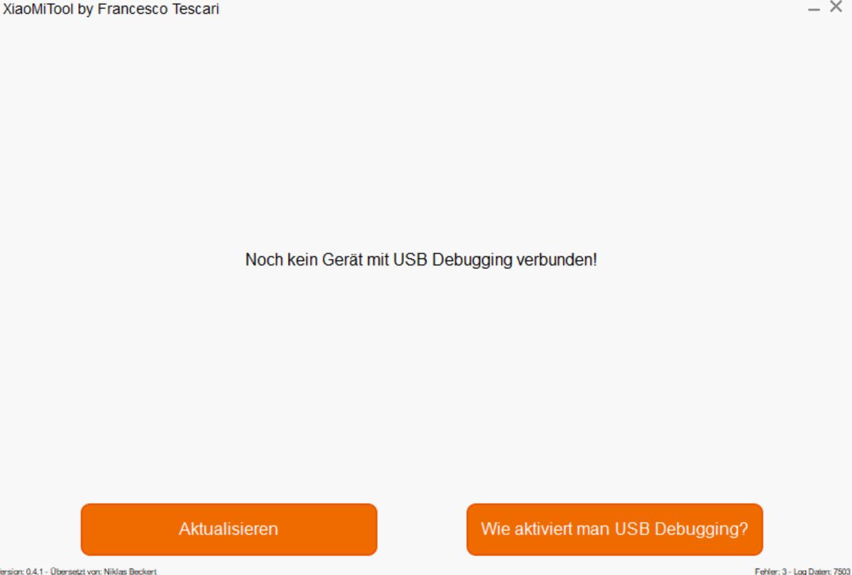 Xiaomi-Mi-Tool (XMT) - Xiaomi Smartphone ohne UNLOCK flashen