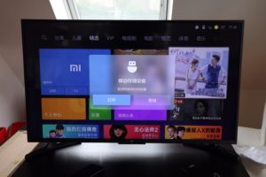 Bildanleitung Xiaomi TV 4A englisch 2