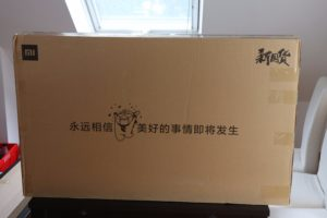 Xiaomi Mi TV 4A Test Verpackung Versand 1