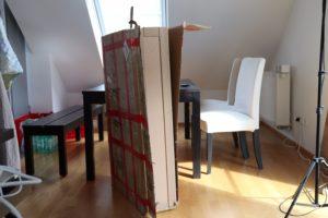 Xiaomi Mi TV 4A Test Verpackung Versand 2
