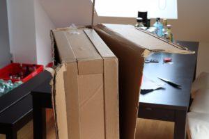 Xiaomi Mi TV 4A Test Verpackung Versand 3