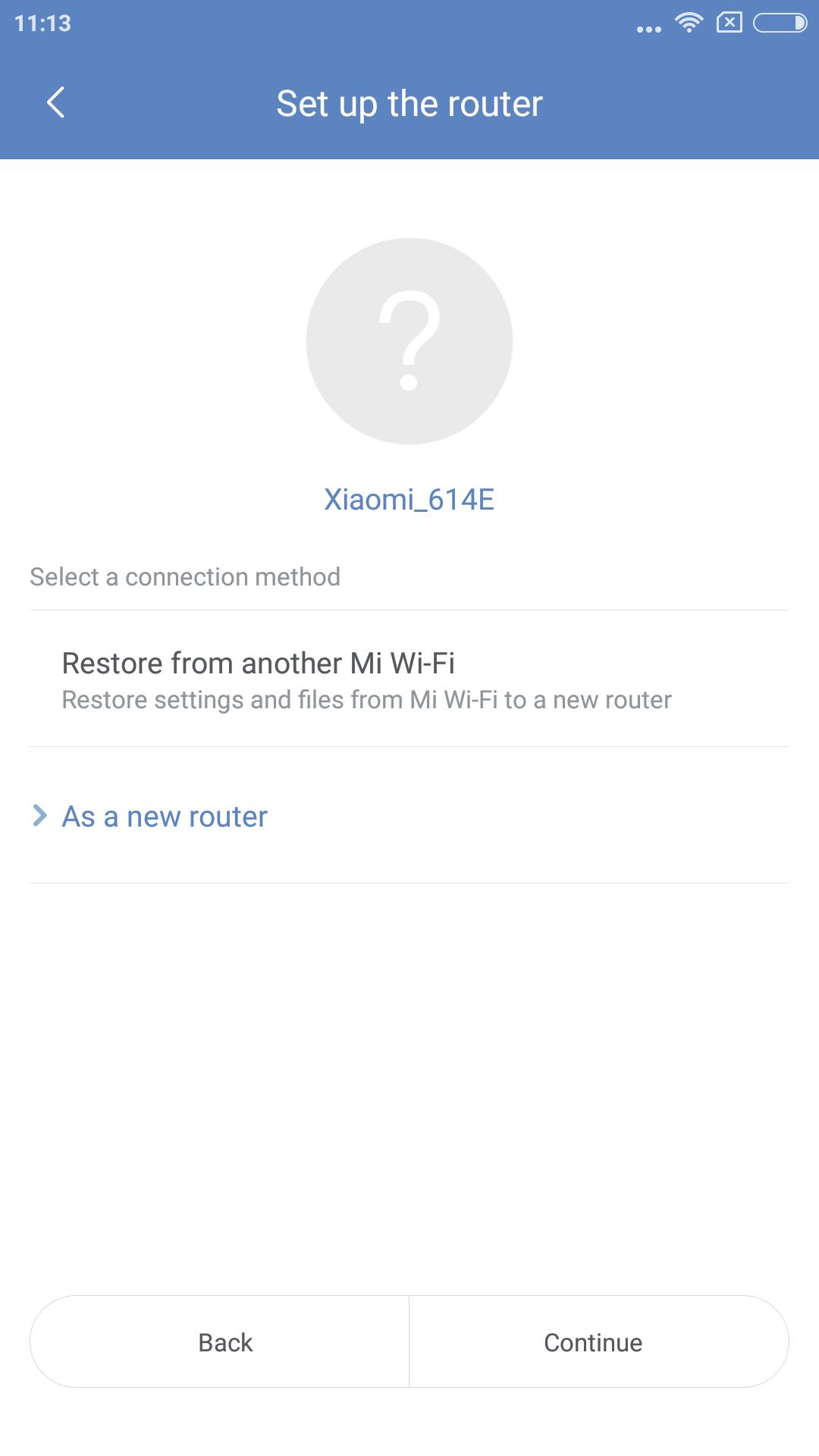 Xiaomi Mi WIFI Router einrichten 1