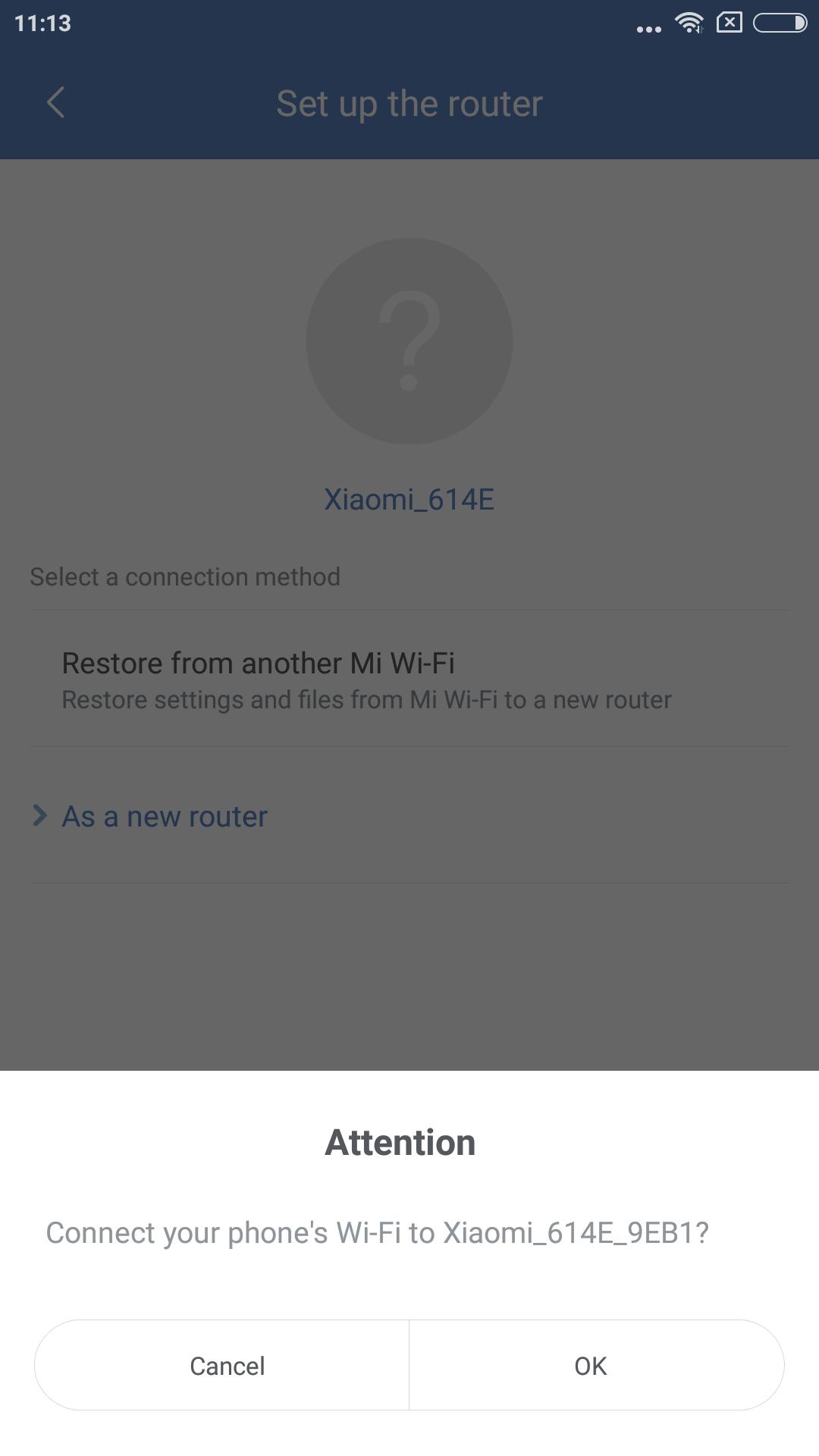 Xiaomi Mi WIFI Router einrichten 2