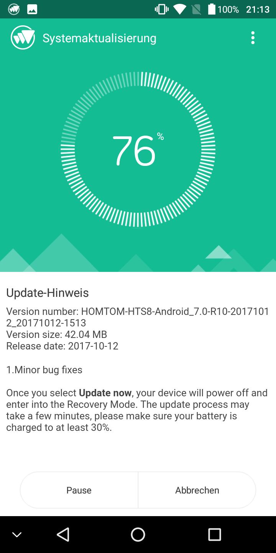 Homtom S8 System 02