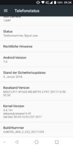 Oukitel Mix 2 System UI 2