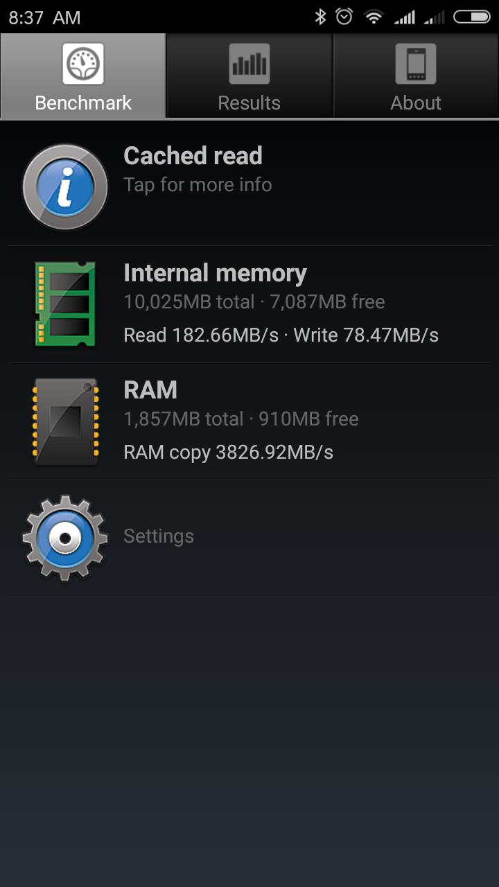 Xiaomi Redmi 5a Speicher