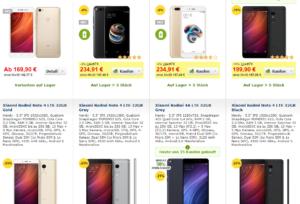 Xiaomi in der EU alza
