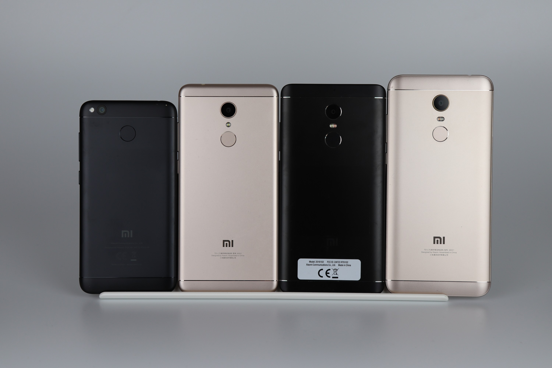 Redmi 4x, Redmi 5, Redmi Note 4X, Redmi 5 Plus.jpg