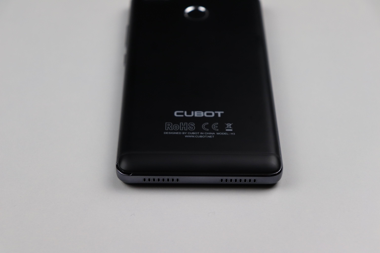 Design e qualità costruttiva del Cubot H3