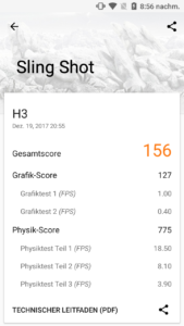cubot h3 3dmark