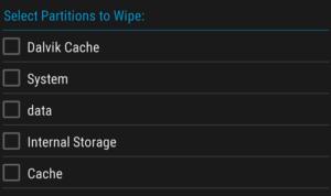 TWRP Wipe