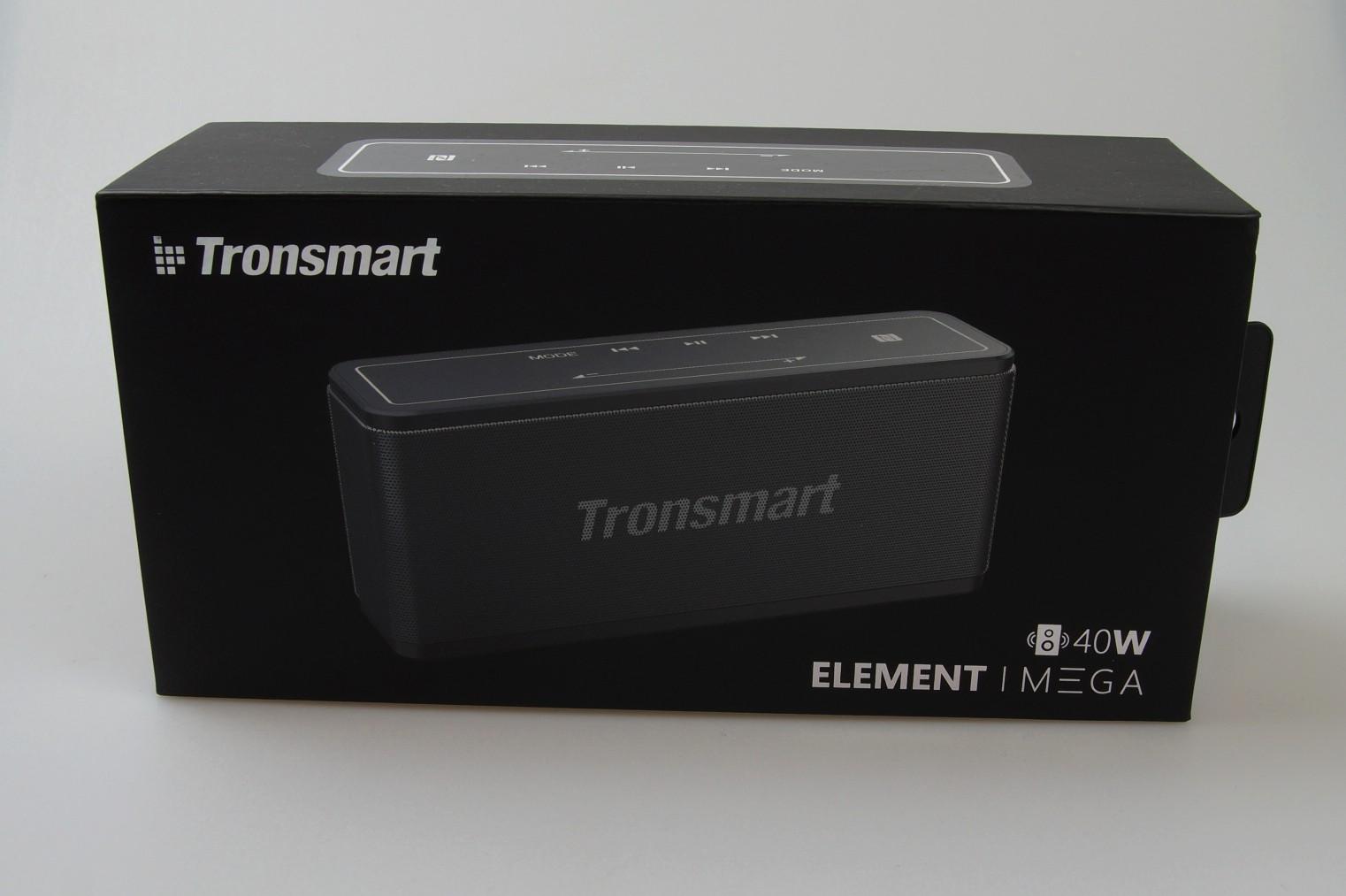 Tronsmart Elements Mega Testbericht Sind 40 Watt